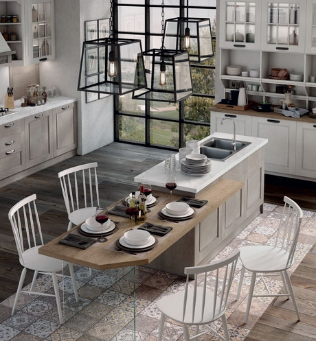 Classic kitchens Stosa - Kitchen model Virginia 1809